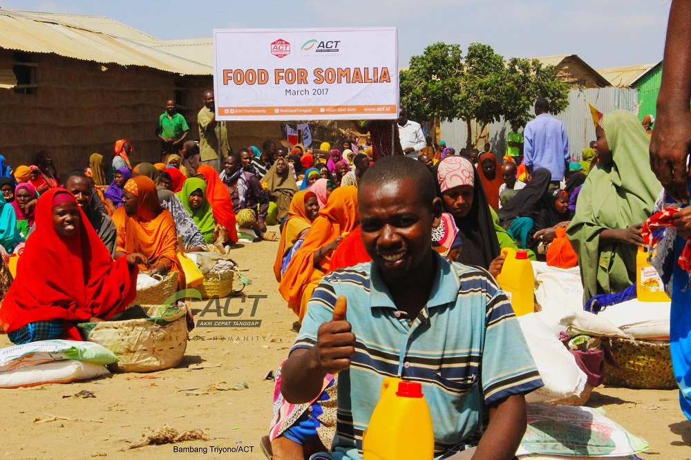ACT Food for somalia