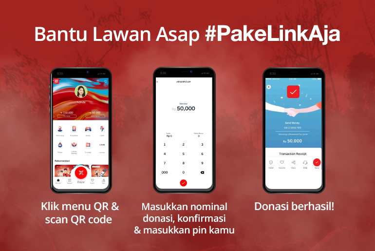 Lawan Asap LinkAja